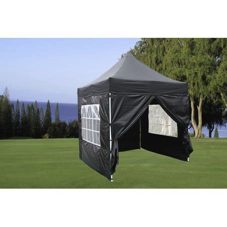 black ez pop  canopy party tent instant gazebo  waterproof top   removable