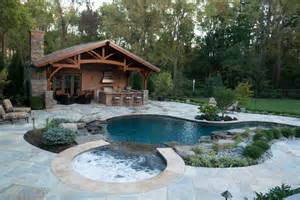cheap decorating ideas for bathrooms inground pool spa with cabana rustic pool new york