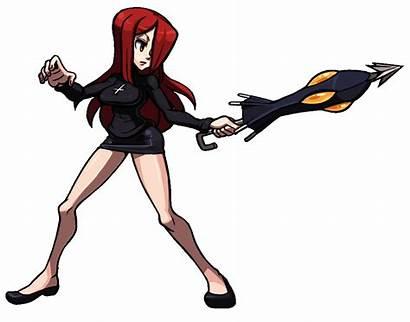 Skullgirls Parasoul Thicc Mugen Animations Pixel Anime