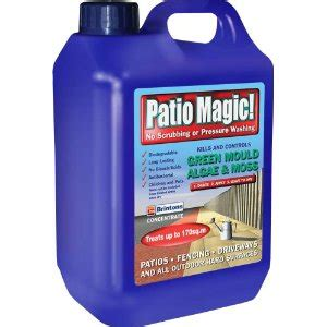 best moss killer for roofs patios and driveways