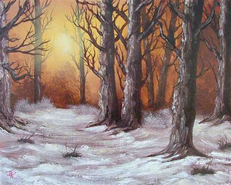 Beginners Oil Painting Classes In East Sussex (bob Ross