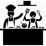 Chef Cooking Icon Kitchen Cook Class Lesson
