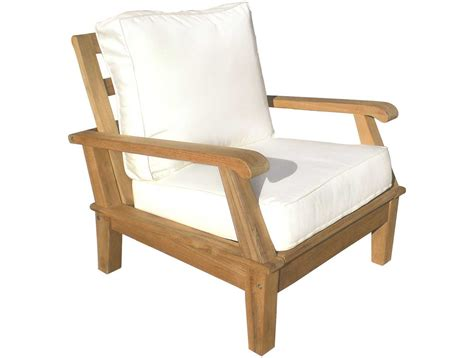 royal teak collection miami cushion adjustable lounge