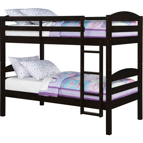 allentown bunk bed espresso bunk beds staggering bunk bed with allentown
