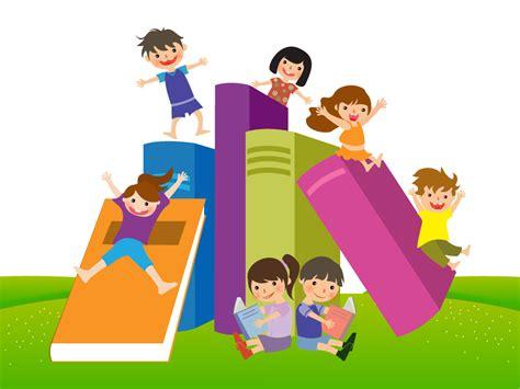 creative colorful attractive children books wallpaper