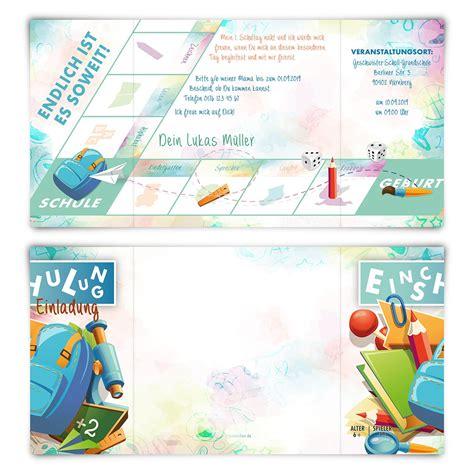 spiele zur einschulung einladungskarten zur einschulung brettspiel