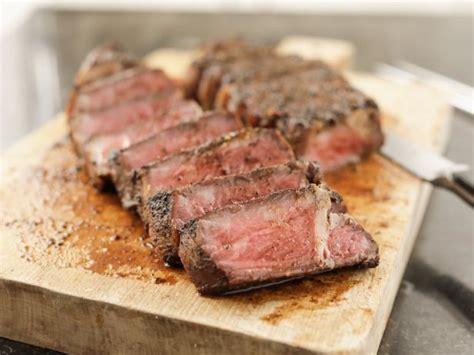 grilled  york strip steaks recipe ina garten food