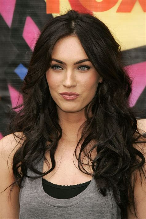 Brown Hair Vs Black Hair by 25 Best Ideas About Megan Fox Hair On Megan