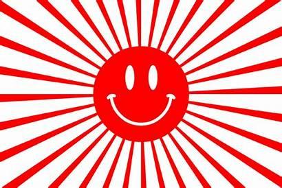 Sun Japan Vector Japanese Background Ray Illustration