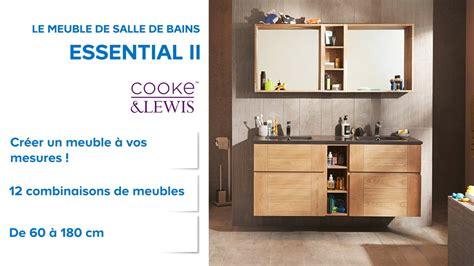 meuble de salle de bains essential ii cooke lewis 666648 castorama