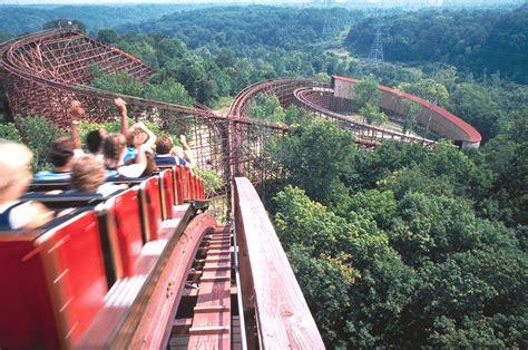 Kings Island Beast Roller Coaster