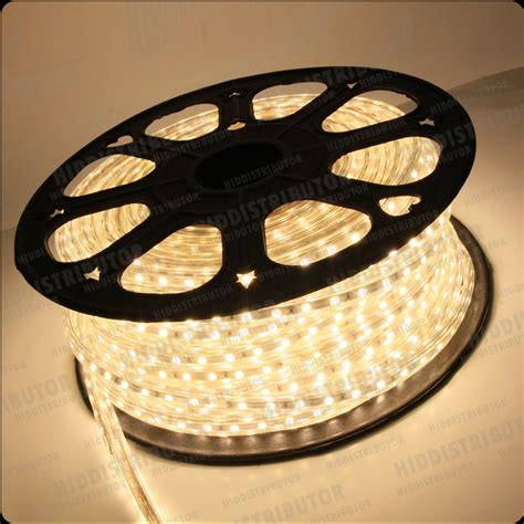 110v 120v power 5050smd flat led rope light