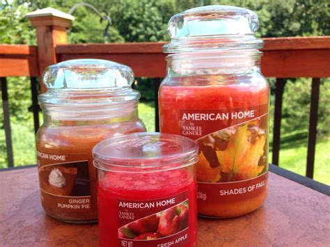 candele americane new yankee candle american home collection