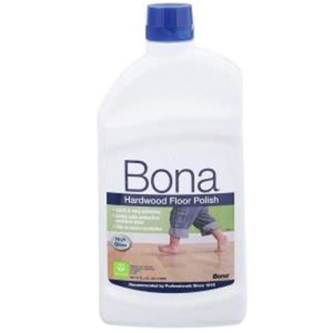 bona hardwood floor high gloss bona 32 oz high gloss hardwood floor wp510051002