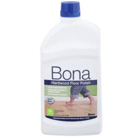 Bona Hardwood Floor High Gloss by Bona 32 Oz High Gloss Hardwood Floor Wp510051002