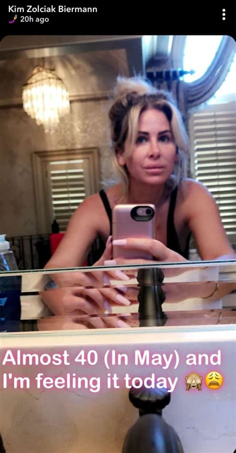 kim zolciak  makeup selfie silences haters  hollywood gossip