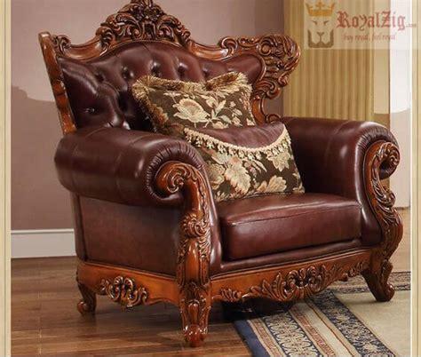 teak wood hand carved luxury wooden arm chair