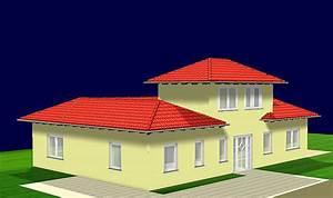 Bungalow Mit Atrium : atrium bungalow 15 130 16 mit erker und turm einfamilienhaus neubau massivhaus stein auf stein ~ Indierocktalk.com Haus und Dekorationen