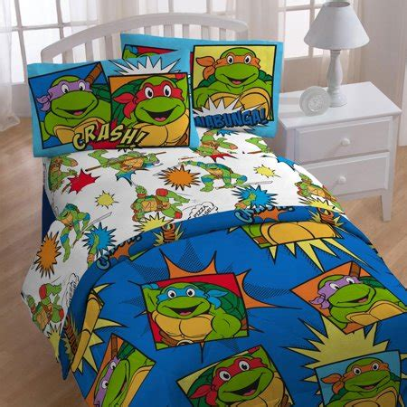 ninja turtles twin bedding team tmnt comforter sheets