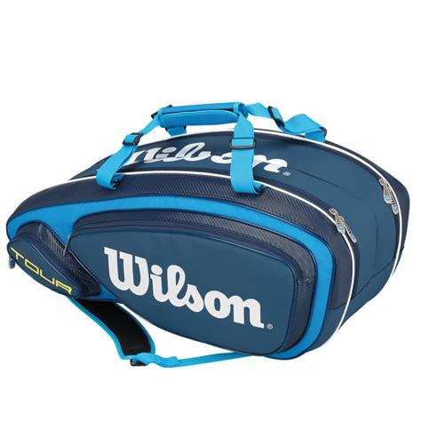 wilson   blue  pack tennis bag wrz  tennis shop