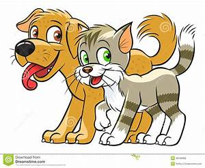 Dog And Cat Cartoon Clipart (73+)