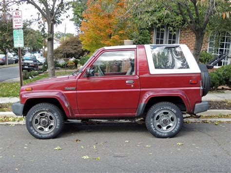 Daihatsu Rocky by Curbside Classic 1990 Daihatsu Rocky Se Technical Knockout