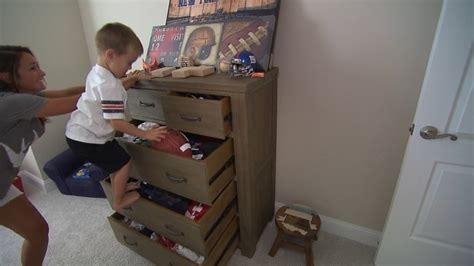 toddler easily pull  chest  ikea issues