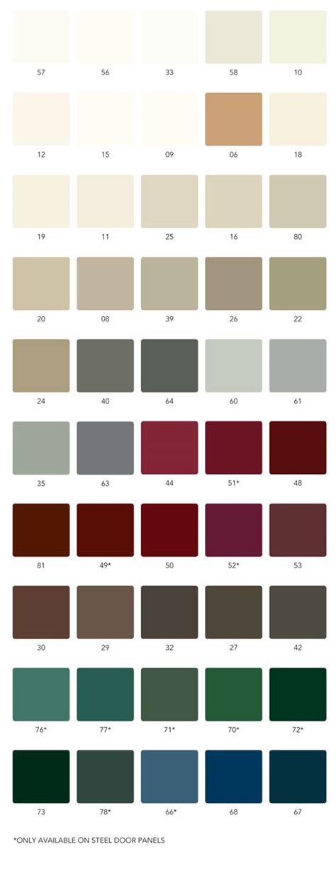 weather all paint colors weather shield 174 exterior entrance doors smooth fiberglass