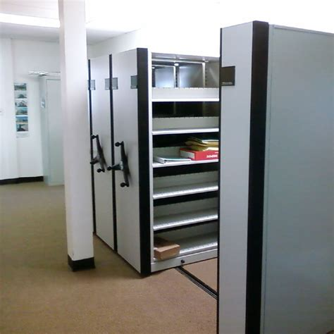 Shelving And Storage Systems by High Density Compact Mobile Shelving Storage Systems