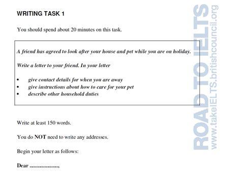 informal letter writing  general training module