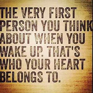 My Heart Belong... 1st Person Quotes