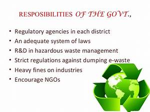 waste management ppt hospital waste management With waste management powerpoint template
