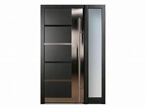 porte et porte dentree en aluminium galant by finstral With porte d entrée alu avec glace salle de bain avec eclairage