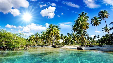 Tropical Beach Wallpapers Full Hd 35761 Baltana