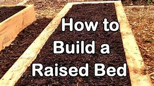 How To Build A Raised Garden Bed With Wood  U2013 Easy  Ez   U0026 Cheap