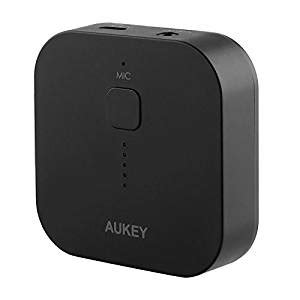 aukey bluetooth receiver audio adapter with free calling for home audio