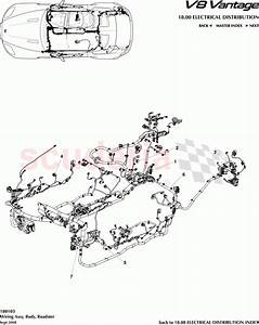 Aston Martin V8 Vantage Wiring Assembly  Body  Roadster