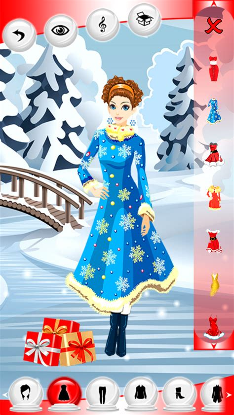 christmas dress up games