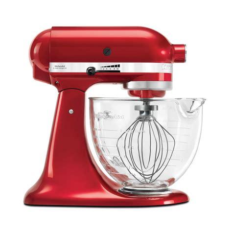 Kitchenaid Platinum Mixer  Red Kitchen