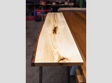 Live Edge Pine Console Table by TahoeWoodCraft on Etsy