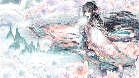 Anime Kimono Wallpaper - anime kimono wallpaper 1080p from shadow of