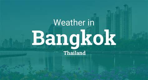 weather  bangkok thailand