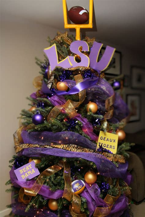 sonnier s lsu tree in nc geaux tigers my life would