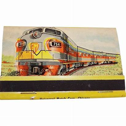 General Motors Train Locomotive Matches Unused Matchbook