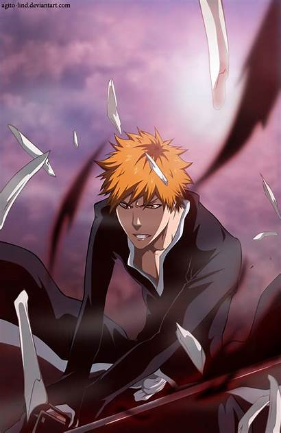 Ichigo Kurosaki Bleach Mobile Anime Lind Agito