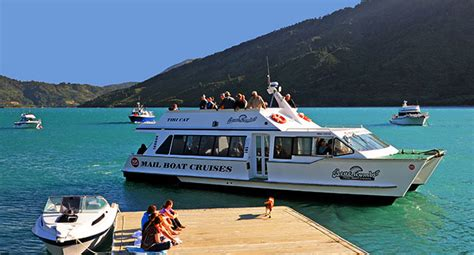 Picton Boat Trips by Home Beachcomber Cruises Marlborough Sounds