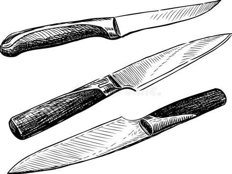 ensemble couteaux cuisine couteaux images libres de droits image 30256609