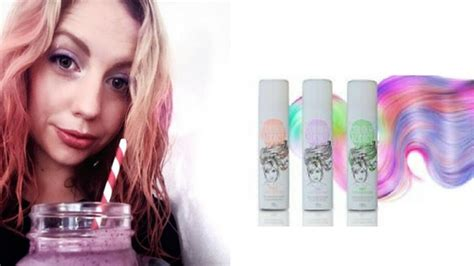Lifes Just Peachy With Mermaid Hair Colour Addict Spray