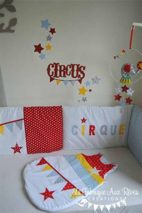 chambre bébé etoile stickers cirque étoiles jaune bleu gris décoration