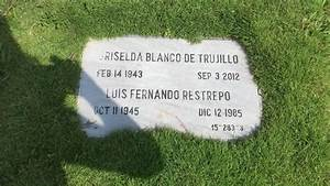 At Griselda Blanco's grave at Jardines de Montesacro ...